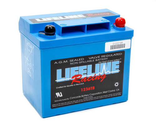 Lifeline Battery AP1236 Power Cell Battery 7.625x5.25x6.875