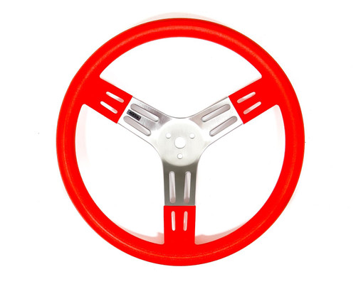 Reb-Co 52-2708646 15in Red Aluminum Wheel Smooth