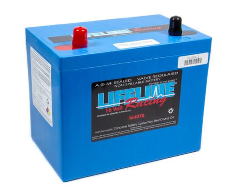 Lifeline Battery 1640TB 16 Volt 2 Post Battery