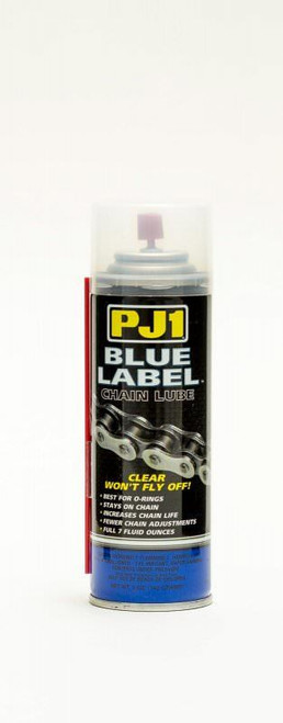 Pj1 Products 1-08 Blue Label Chain Lube for O Ring Chains 5oz