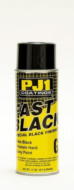 Pj1 Products 16-GLS Gloss Black Epoxy Paint 250degF 11oz