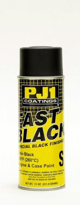 Pj1 Products 16-SAT Engine Paint Black Satin 500degF 11oz