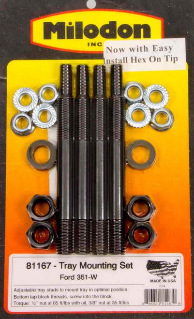 Milodon 81167 Ford 351W Windage Tray Installation Kit