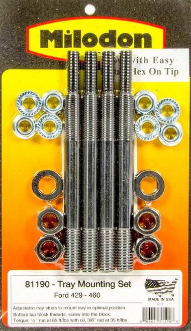 Milodon 81190 BBF Windage Tray Installation Kit