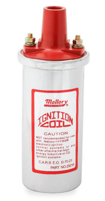 Mallory 29219 Chrome Coil Canister Style