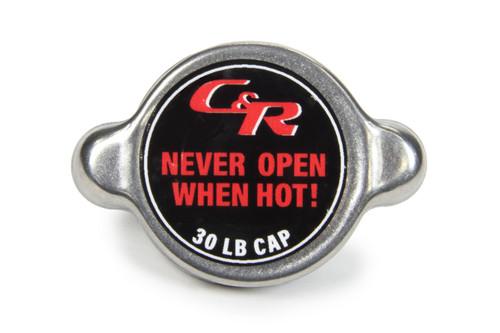 C And R Racing Radiators 50-00005 Small C&R Radiator Cap 30lbs