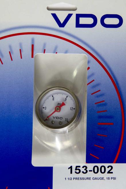 Vdo 153-002 0-15 Fuel Pressure Gauge