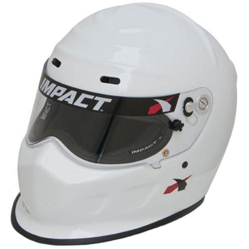 Impact Racing 13015309 Helmet Champ Small White SA2015
