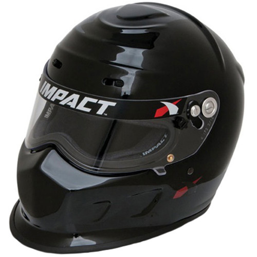Impact Racing 13015310 Helmet Champ Small Black SA2015