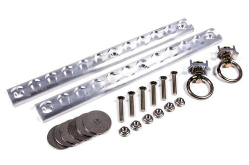 Macs Custom Tie-Downs 522112 12in Versatie Track Kit