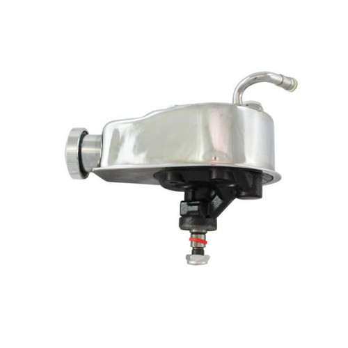 Specialty Products Company 3130 Power Steering Pump 1966 -76 GM Saginaw (Chrome)