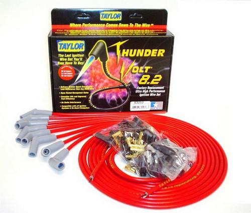 Taylor/Vertex 83253 Univ Thundervolt Plug Wire Set 135 deg Red