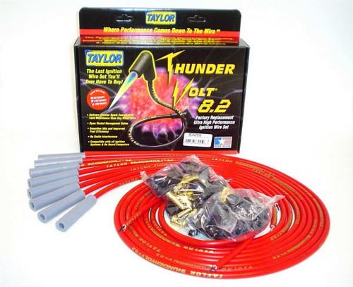 Taylor/Vertex 83255 Univ Thundervolt Plug Wire Set 180 deg Red