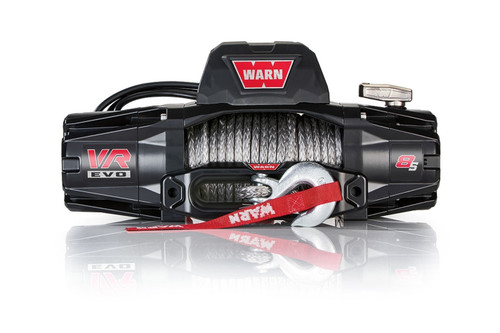 Warn 103251 VR EVO 8-S Winch 8000# Synthetic Rope