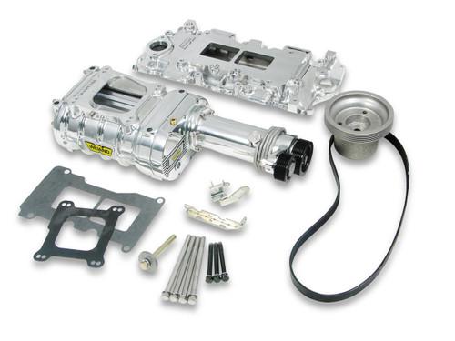 Weiand 6510-1 SBC 142 Supercharger Kit - Polished