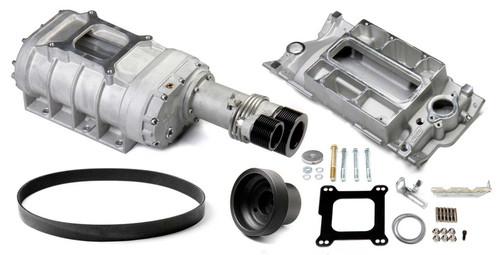 Weiand 6512-1 SBC 177 Supercharger Kit - Satin