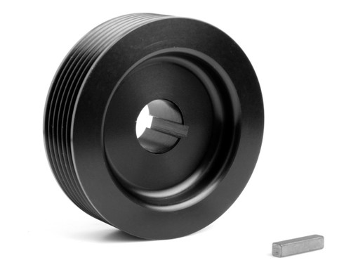 Weiand 6790 6-Rib Upper Drive Pulley 2.85in Dia.