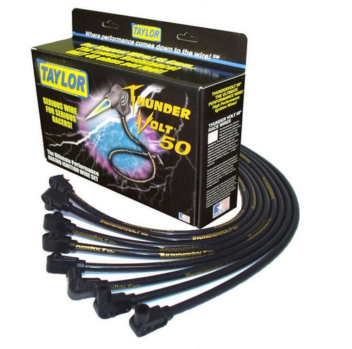 Taylor/Vertex 98002 10.4mm V8 Thunder Volt 50 Plug Wire Set BBC HEI