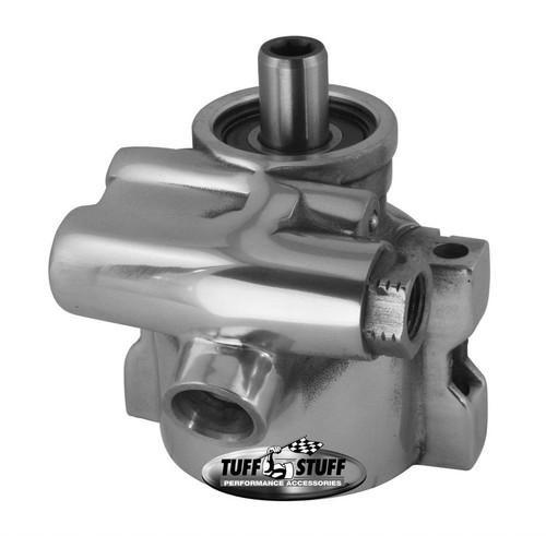 Tuff-Stuff 6175ALP-6 GM LS1 Power Steering Pump Polished Aluminum