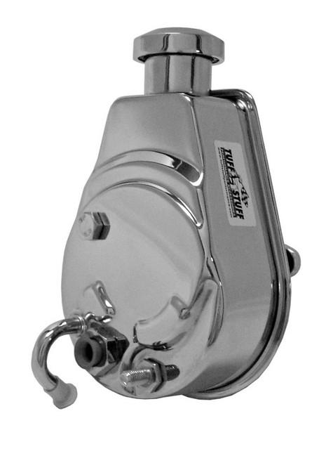 Tuff-Stuff 6176A Saginaw Power Steering Pump Chrome 1200 PSI