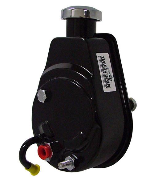 Tuff-Stuff 6176B Saginaw Power Steering Pump Black 1200 PSI