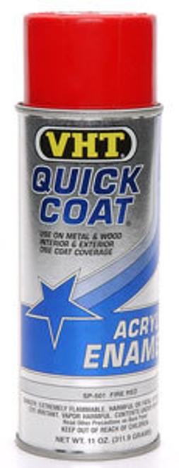 Vht SP501 Fire Red Quick Coat