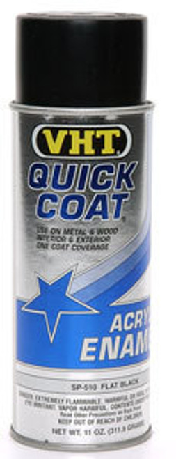 Vht SP510 Flat Black Quick Coat