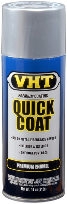 Vht SP525 Quick Coat Enamel Silver Chrome 11 oz.