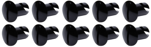Ti22 Performance 8102 Oval Head Dzus Buttons .500 Long 10 Pack Black
