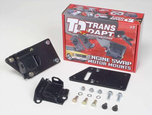Trans-Dapt 4595 LS1 into SBC Chassis Motor Mount Kit