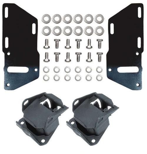 Trans-Dapt 4671 82-97 S-10 2wd 4.3L To SBC Motor Mounts