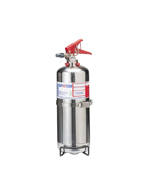Sparco 014773BXLN2 Extinguisher Handheld 2L Steel NOVEC