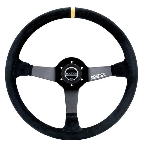 Sparco 015R345MSN Steering Wheel 345 Black Suede