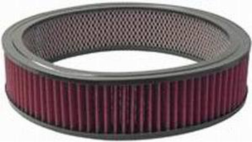 Racing Power Co-Packaged R2120 14In X 3In Round Washab le Air Cleaner Element