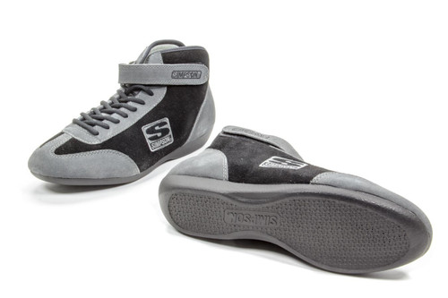 Simpson Safety MT115BK Midtop Shoe Black 11.5