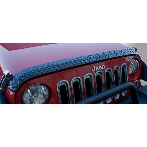Rugged Ridge 11651.17 Hood Guard  Body Armor 07-18 Jeep Wrangler JK