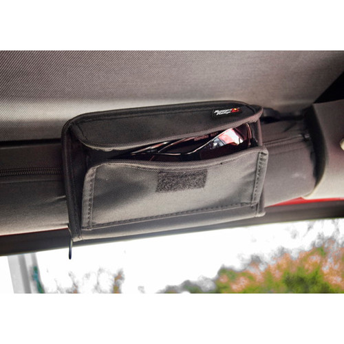Rugged Ridge 12101.52 Sunglass Holder Storage Pouch 55-18 Jeep CJ/Wran