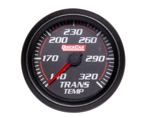 Quickcar Racing Products 63-012 Redline Trans Temp Gauge