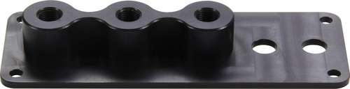 Quickcar Racing Products 63-132 Firewall Junction 3 Big 2 Small Hole