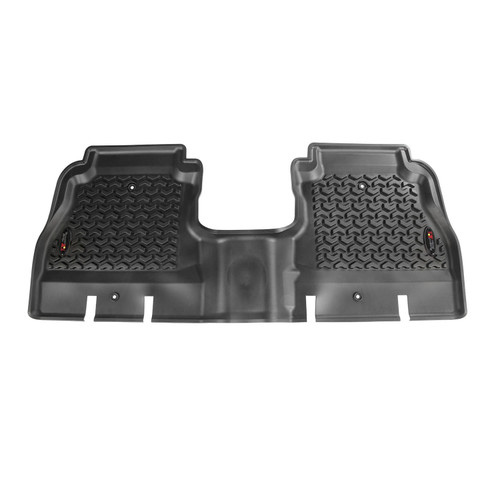 Rugged Ridge 12950.48 Rear Floor Liners Black 18-   Jeep Wrangler JL