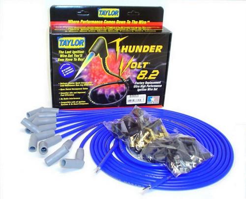 Taylor/Vertex 83653 Univ Thundervolt Plug Wire Set 135 deg Blue