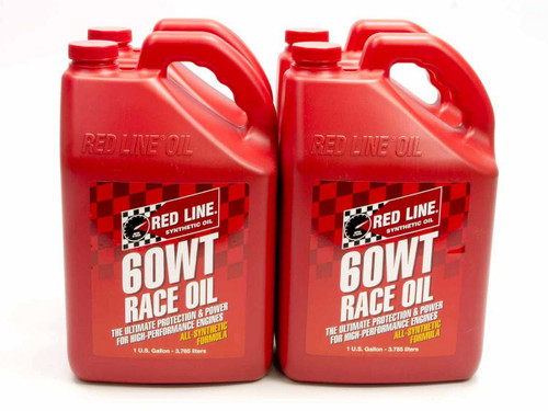 Redline Oil 10625 60WT Race Oil Case/4-Gal (20W60)