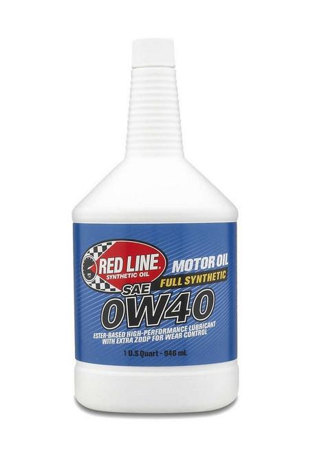 Redline Oil 11104 0W40 Motor Oil 1qt