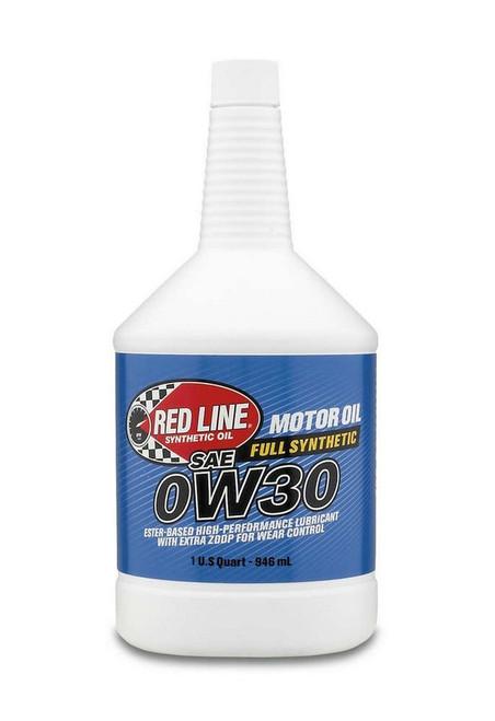Redline Oil 11114 0W30 Motor Oil 1qt