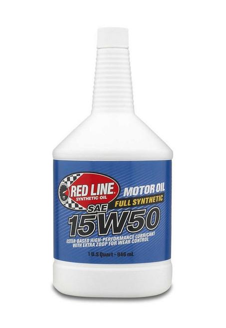 Redline Oil 11504 15W50 Motor Oil 1qt