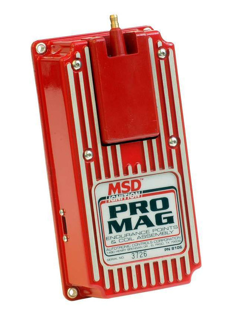 Msd Ignition 8106 Pro-Mag Points Box
