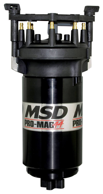 Msd Ignition 81307 Pro Mag 44 - Clockwise Black w/Big Cap
