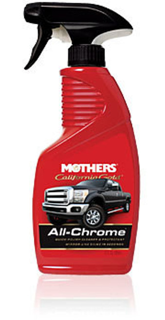 Mothers 05222 California Gold All Chrome 12oz.