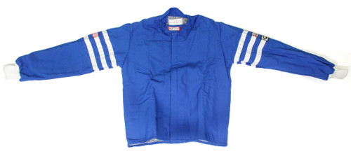 Rjs Safety 200080306 Jacket Nomex D/L XL Blue SFI-5