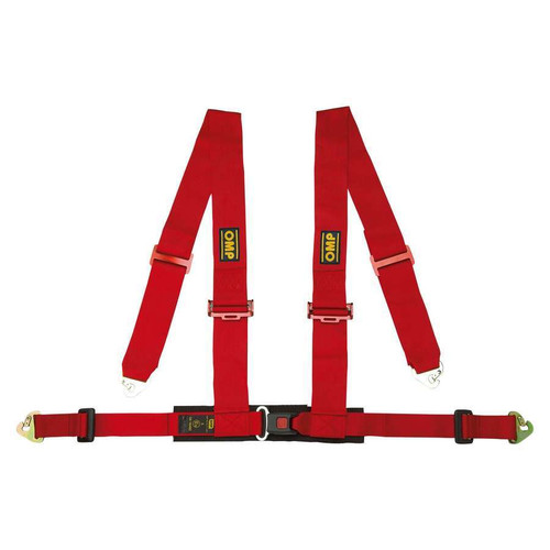 Omp Racing, Inc. DA508061 Harness 4 Point Red